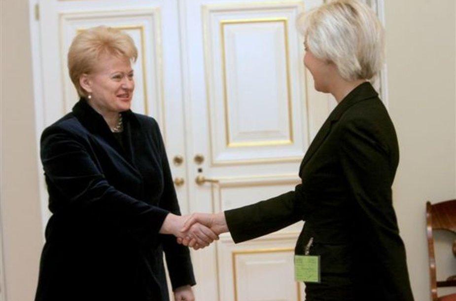 Dalia Grybauskaitė ir Diana Korsakaitė