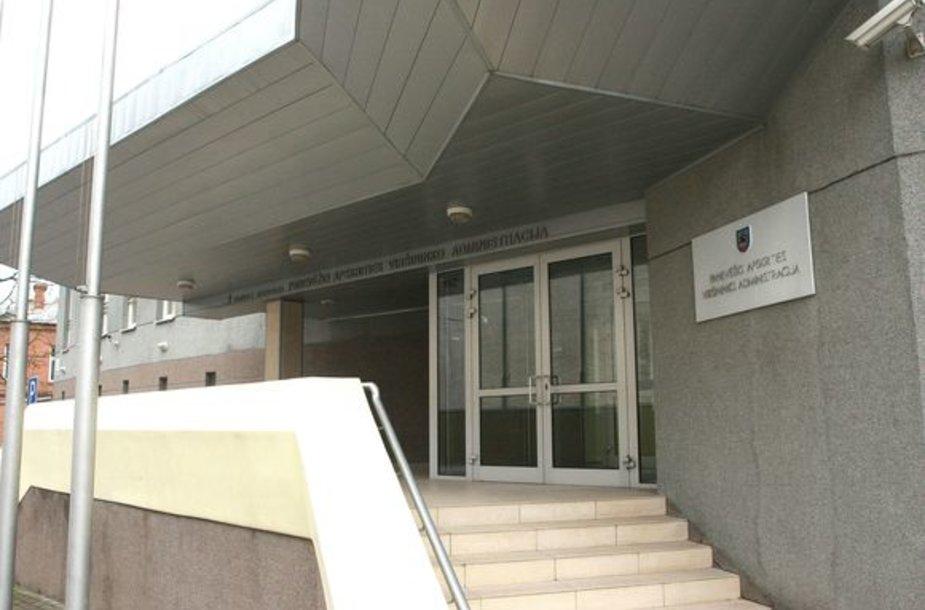 Panevėžio apskrities viršininko administracijos pastatas.
