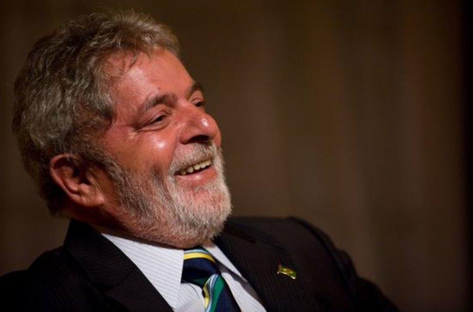 Brazilijos prezidentas Luizu Inacio Lula da Silva