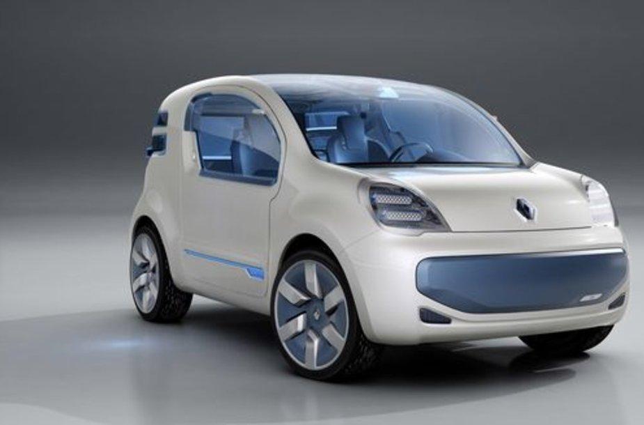 """""""Kangoo Z.E. Concept"""" automobilis"""