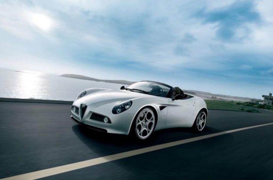"""""""Alfa Romeo 8C Spider"""""""