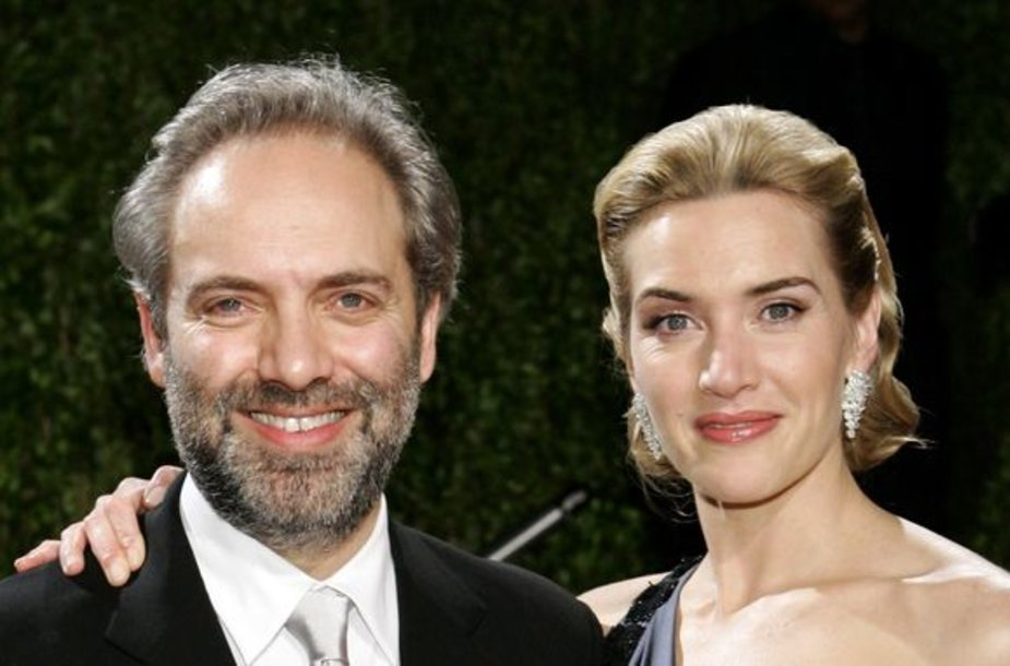 Kate Winslet ir Samas Mendesas