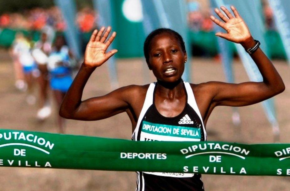 Kenijos bėgikė Florence Jebet Kiplagat
