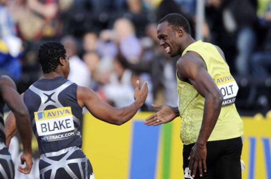 Yohan Blake laikomas vienu iš galimų U.Bolto įpėdinių.