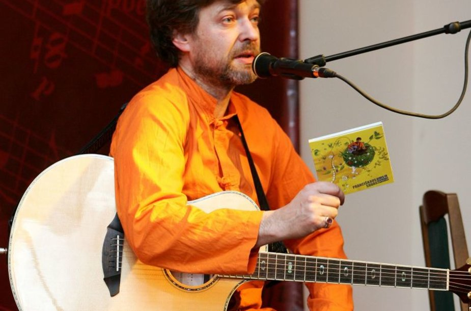 Aktorius, bardas Gediminas Storpirštis