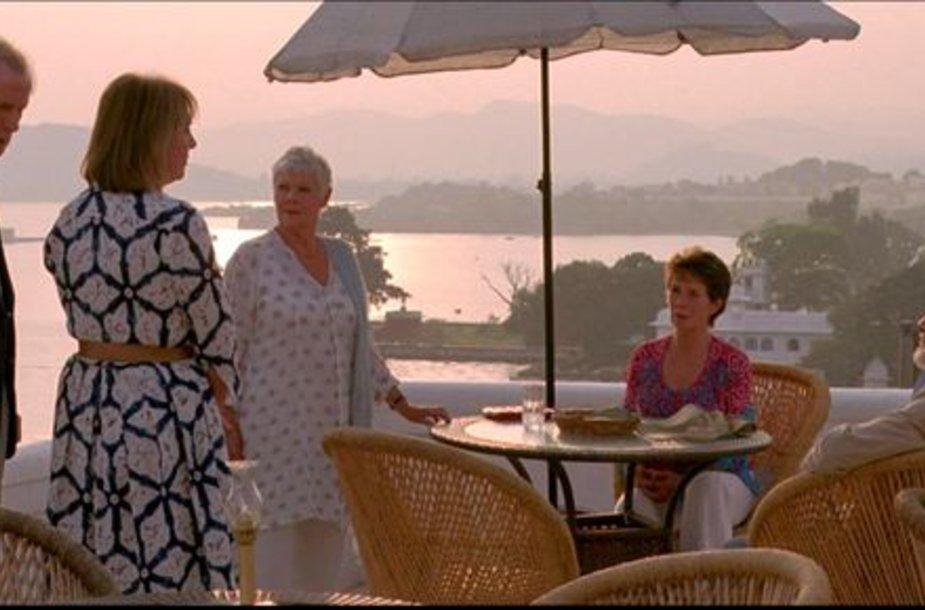 """Filmas """"Geriausias egzotiškas """"Marigold"""" viešbutis"""""""