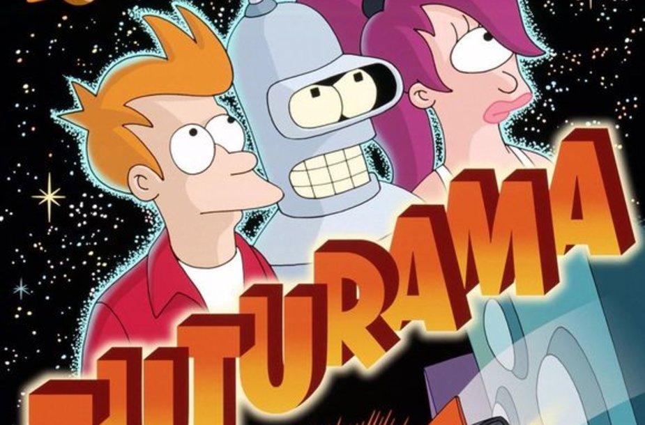 """Serialas """"Futurama"""""""