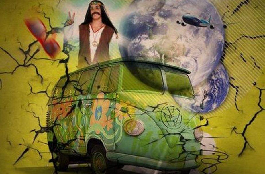 """Klubas """"Tarantino"""" kviečia į """"Hippie Planet"""" vakarėlį"""