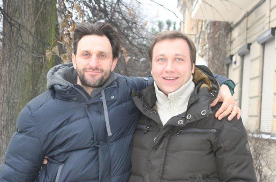 Dainius Kazlauskas ir Georgijus Dronovas