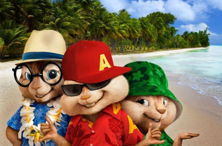 """Filmas """"Alvinas ir burundukai 3"""""""