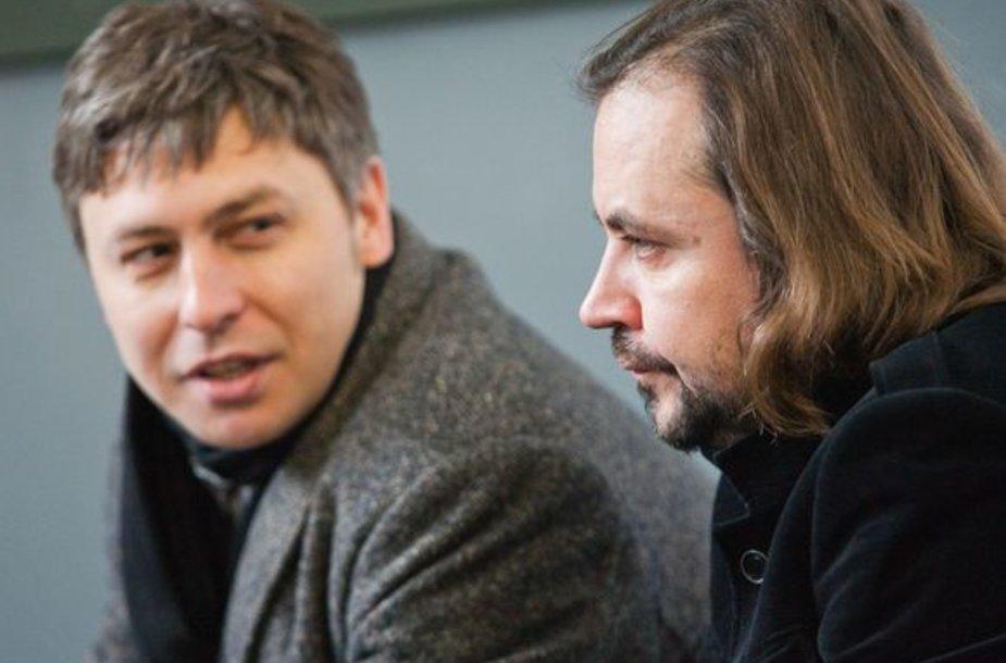 Marius Ivaškevičius ir Oskaras Koršunovas