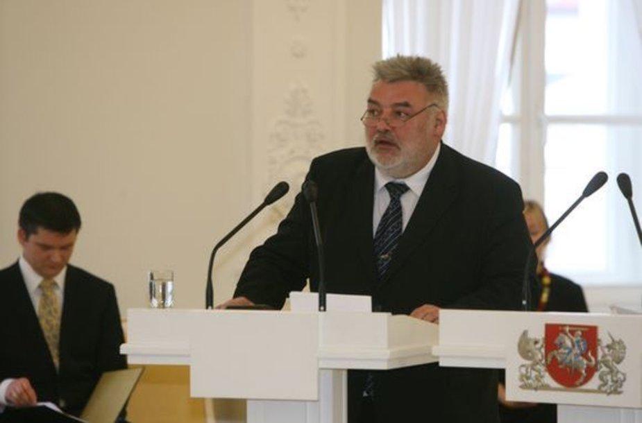 Nacionalinių kultūros ir meno premijų komisijos pirmininkas Alfredas Bumblauskas