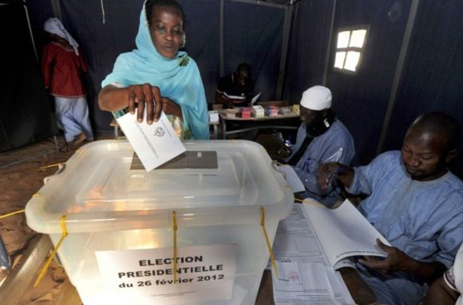 Senegale vyksta prezidento rinkimai.
