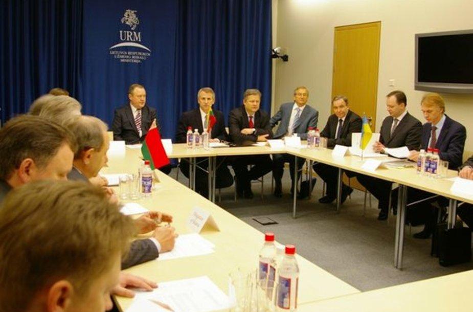 Lietuvos, Baltarusijos ir Ukrainos užsienio reikalų ministrų susitikimas