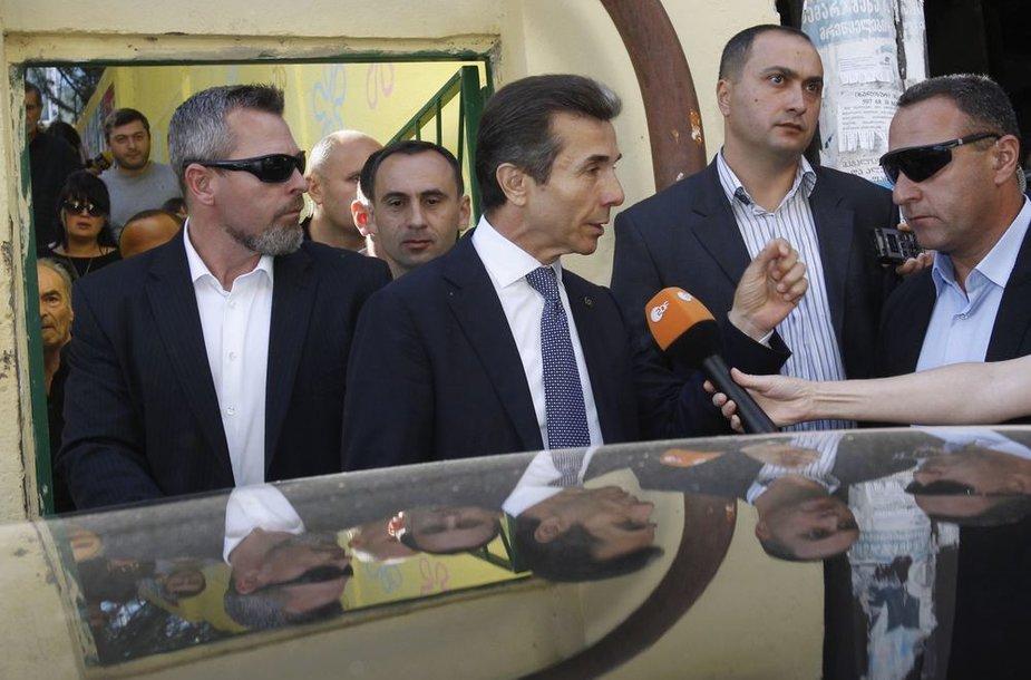 Gruzijoje vyksta parlamento rinkimai.