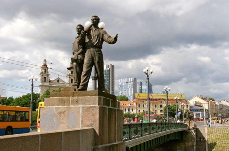 Žaliojo tilto skulptūros