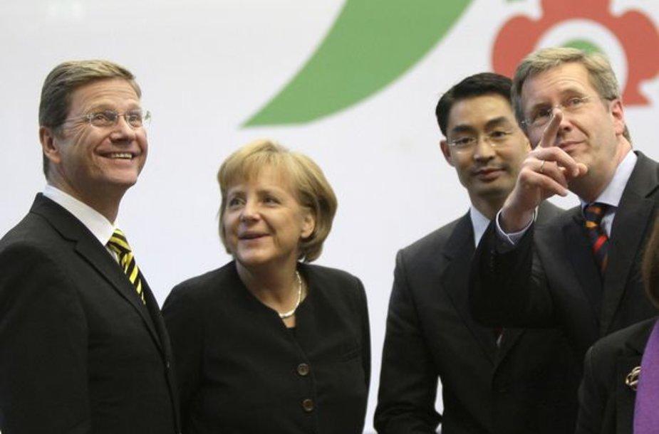 Vokietijoje suformuota koalicija.