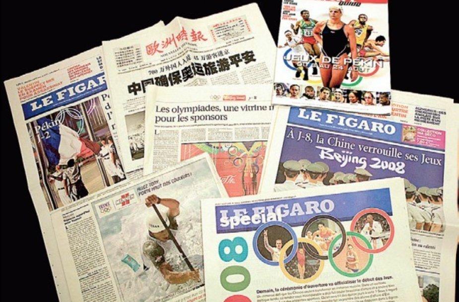 Prancūzija tikisi grąžinti jaunimą prie laikraščių.