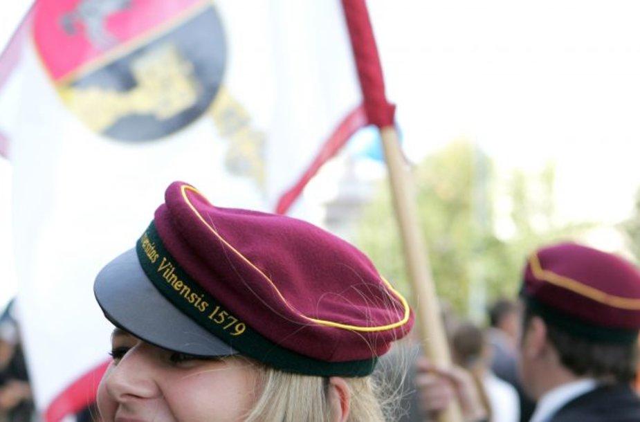 Vilniaus universiteto studentė