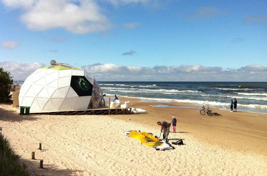L.Karaliaus kavinė ant jūros kranto sulaukė tikrintojų.