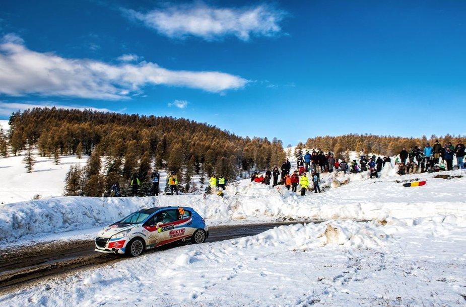 """Arctic Energy World rally team"" komanda"