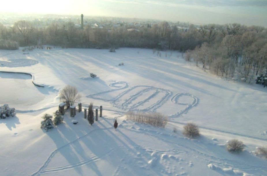 Sniego labirintas