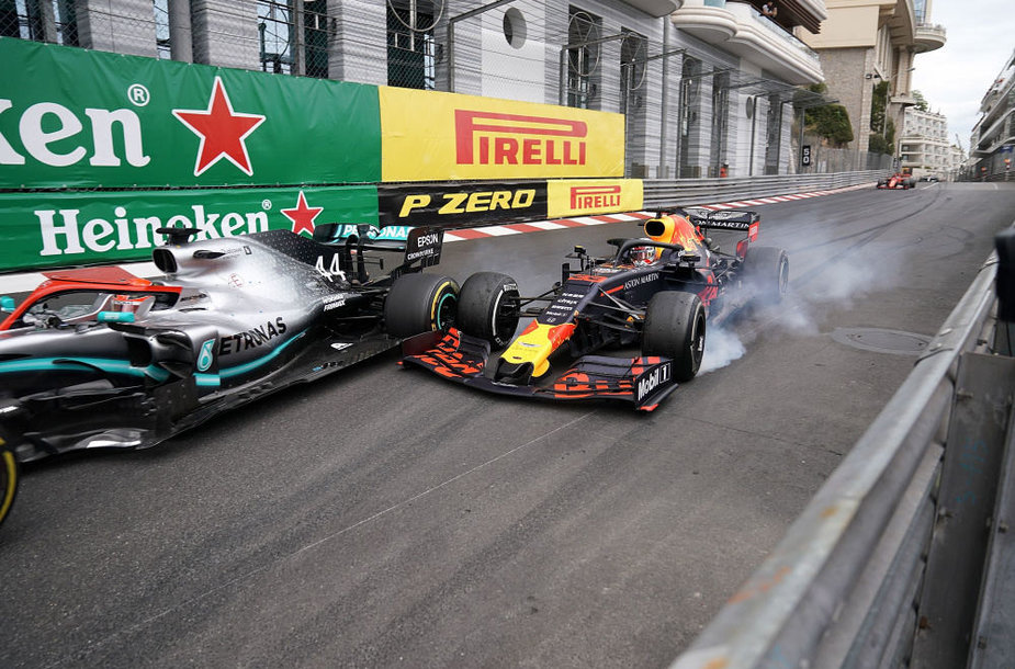 L.Hamiltonas ir M.Verstappenas Monako GP