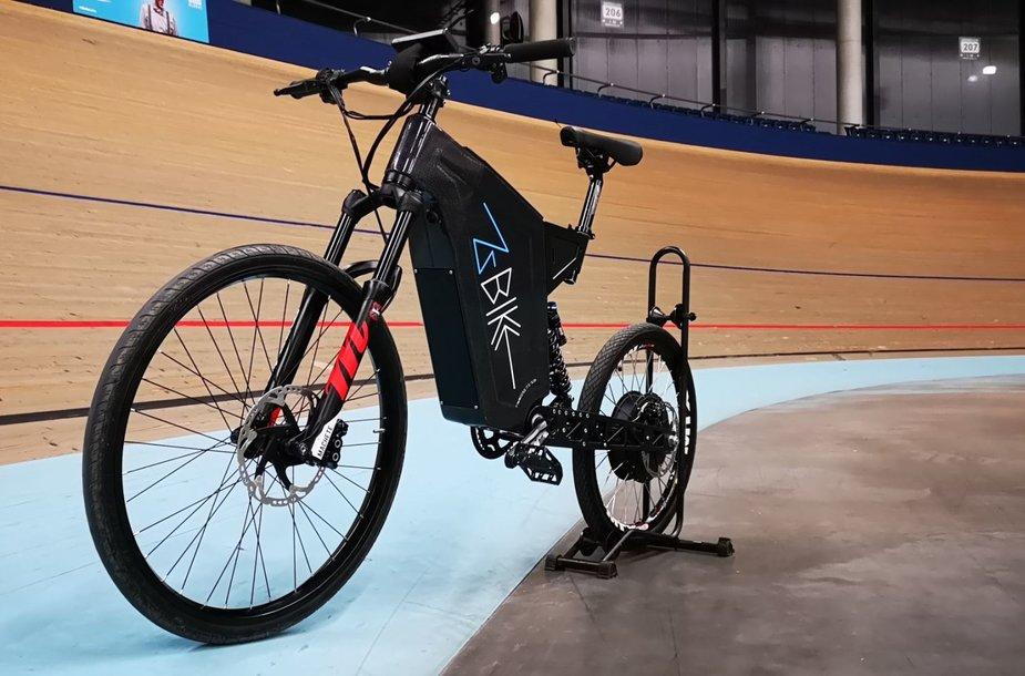 """Elektrinis dviratis """"Zbike Z1L"""""""