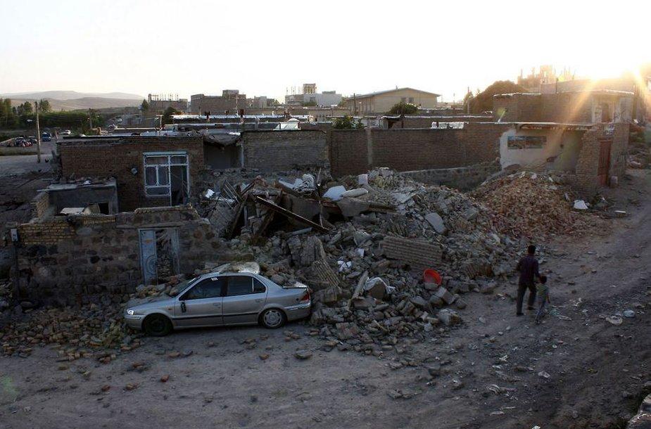 Žemės drebėjimas Irane