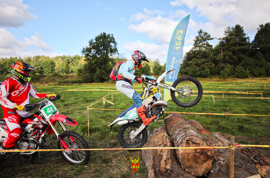 Motociklų Enduro sprint varžybos Šilutėje