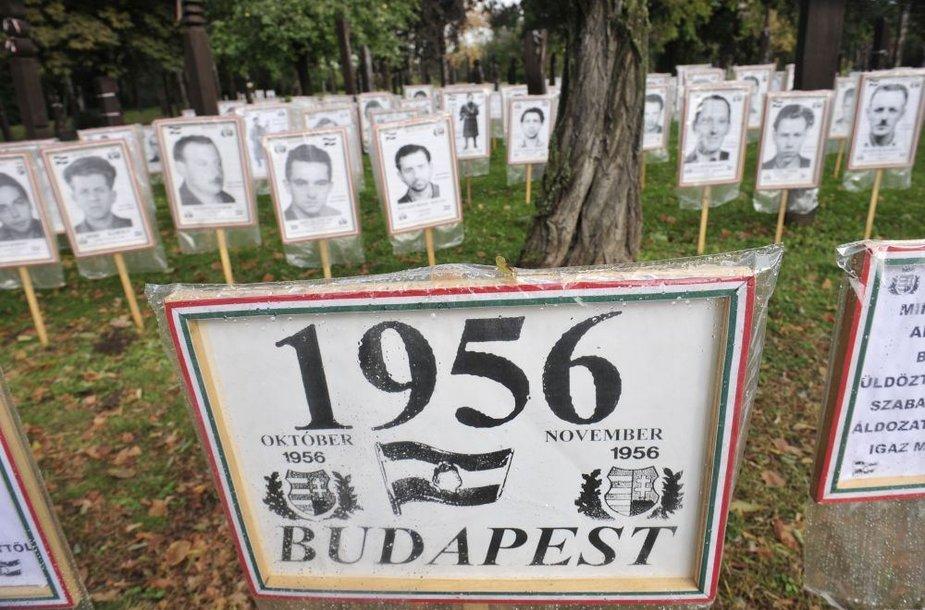 1956 m. Vengrijos okupacijos aukos
