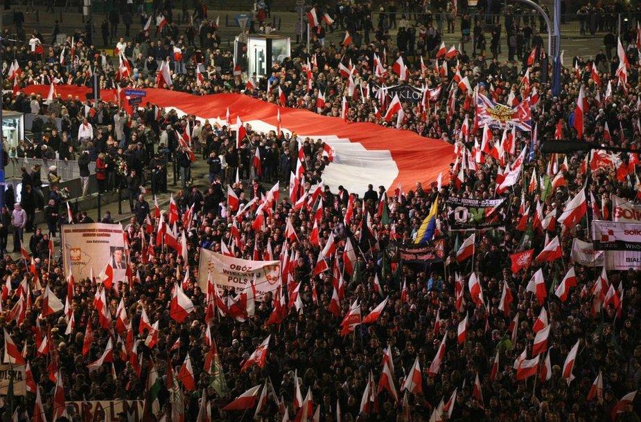 Nepriklausomybės diena Varšuvoje, riaušės