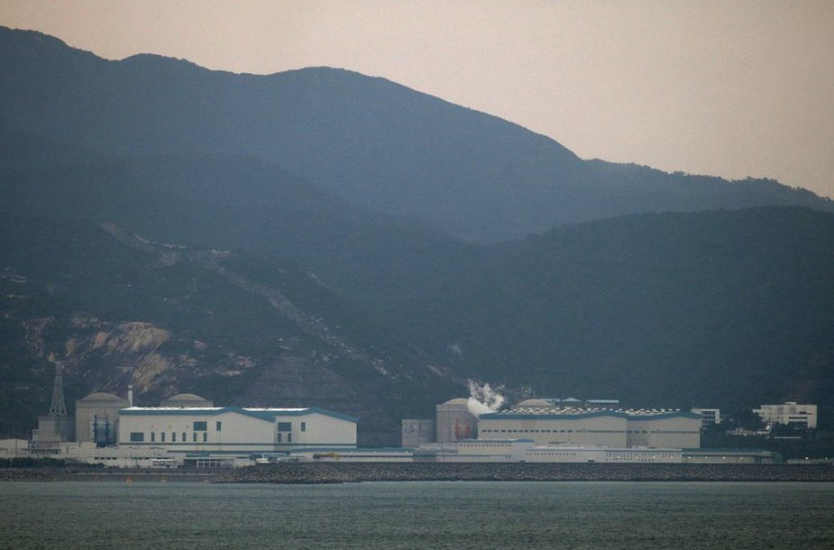 Asociatyvinė nuotrauka. Daya Bay atominė elektrinė Kinijoje