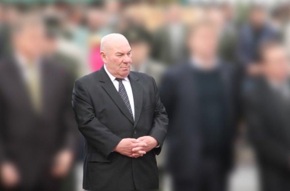 Ukmergės meras Algirdas Kopūstas