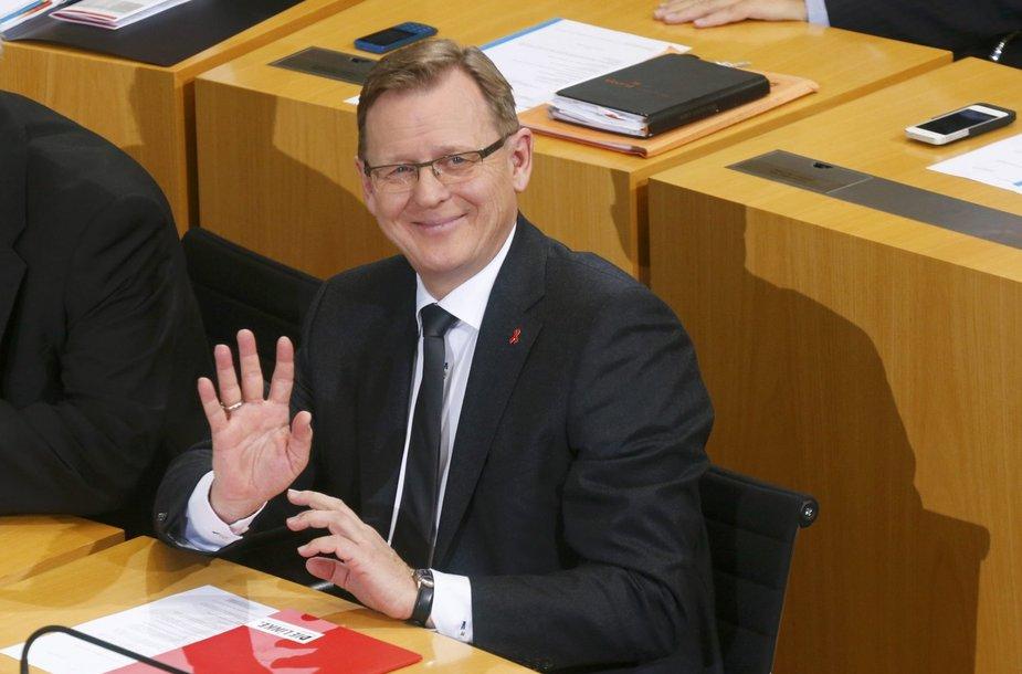 Bodo Ramelow , kairiųjų atstovas, Tiuringijos vadovas