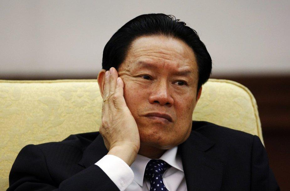 Buvęs Kinijos saugumo vadovas Zhou Yongkangas