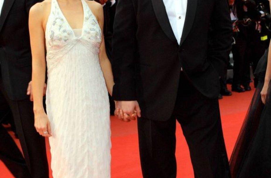 Danielle Spencer ir Russell Crowe