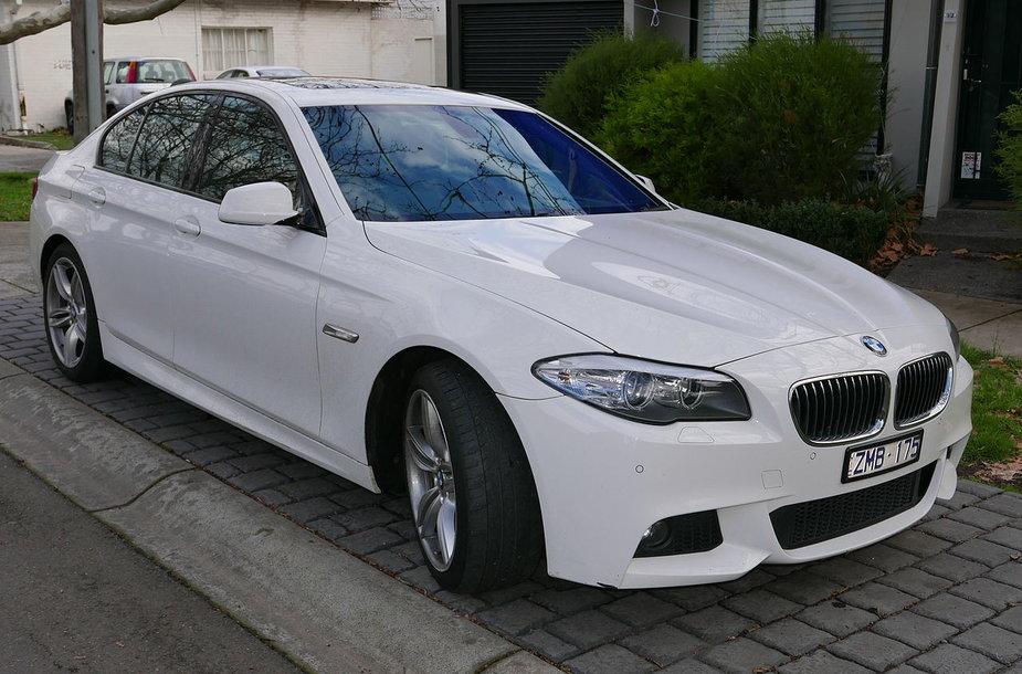 2012 m. BMW 520