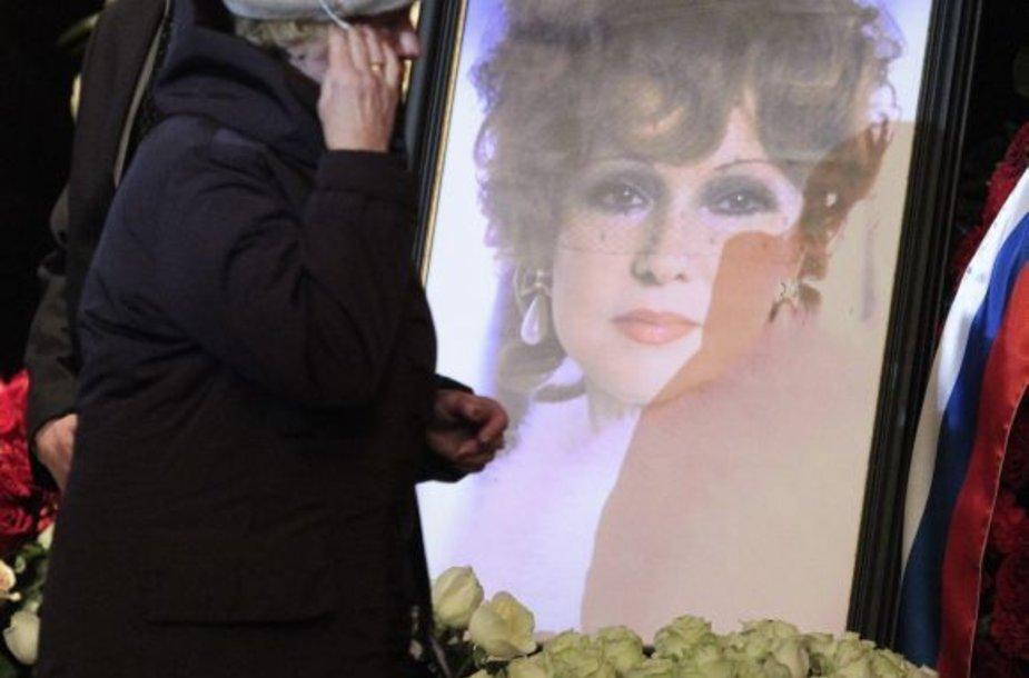 Liudmilos Gurčenko laidotuvės Maskvoje