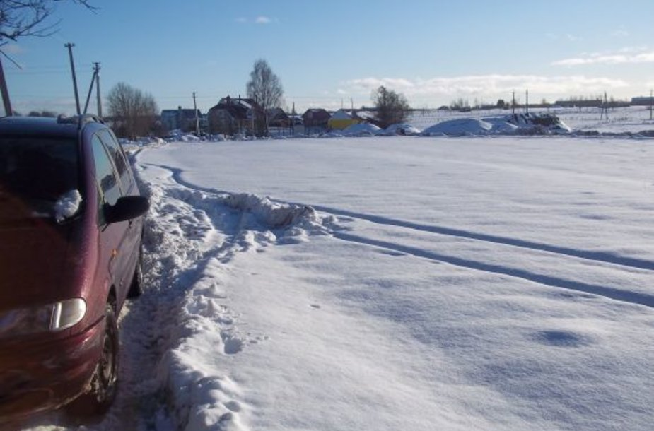 Žiema Šilalėje