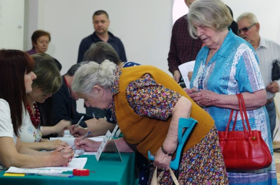 Lenkijos pensininkės