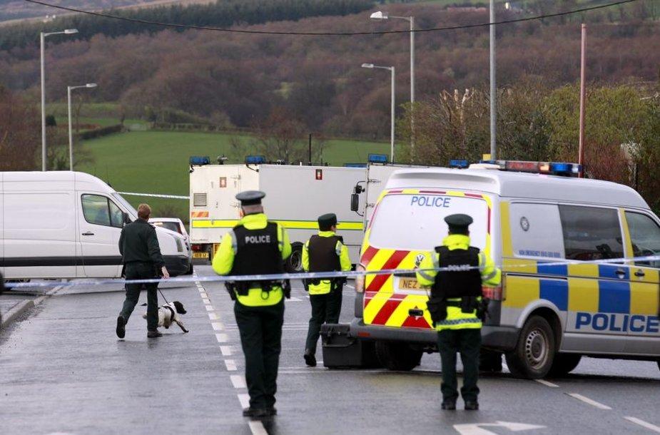 Šiaurės Airijos policininkai