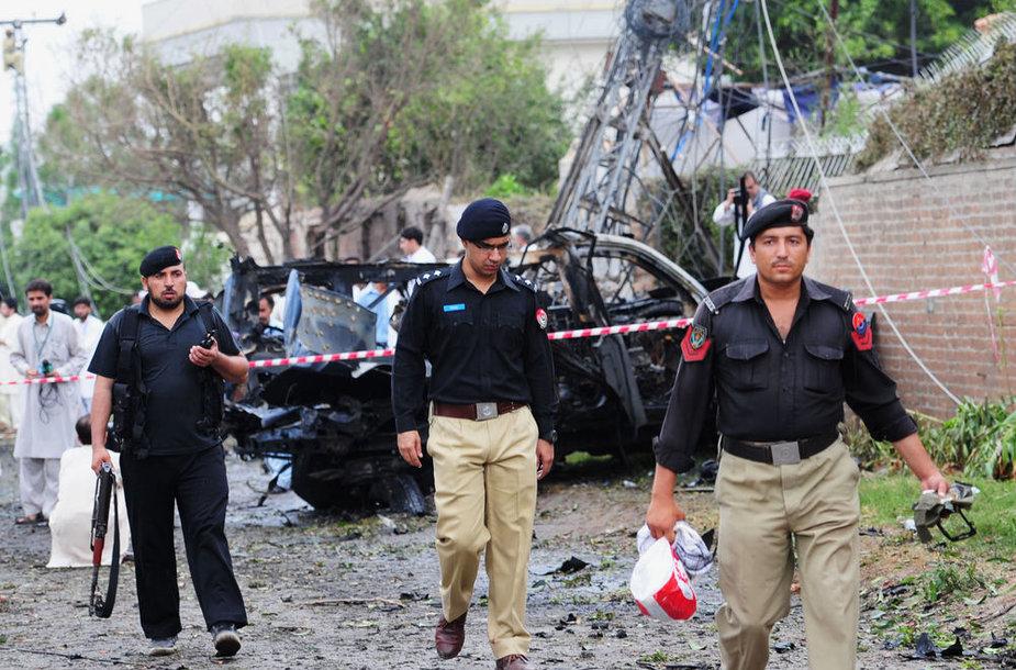 Po sprogimo Pakistane