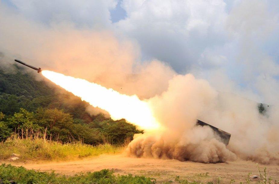 Karinės pratybos Pietų Korėjoje