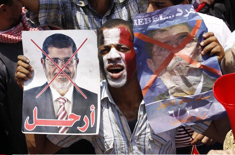 Mohamedo Mursi priešininkas