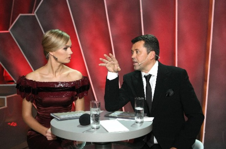 Laidos vedėjai Jurgita Jurkutė ir Vytautas Šapranauskas