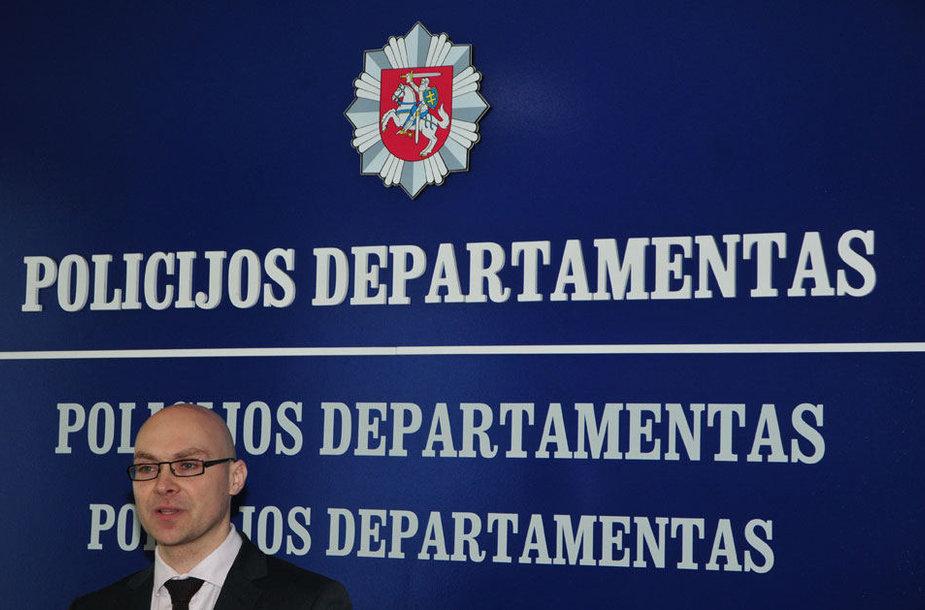 Policijos departamento Imuniteto valdybos viršininkas Donatas Malaškevičius