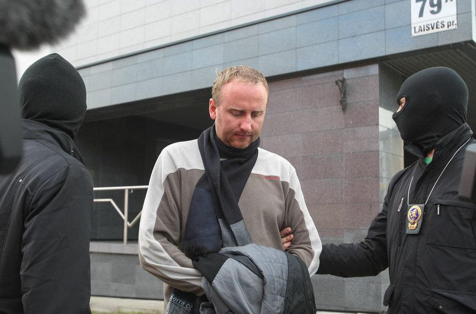 Egidijus Vilkickas teisme su STT agentais
