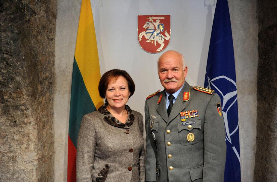 Generolo Wolfo Langheldo vizitas Vilniuje