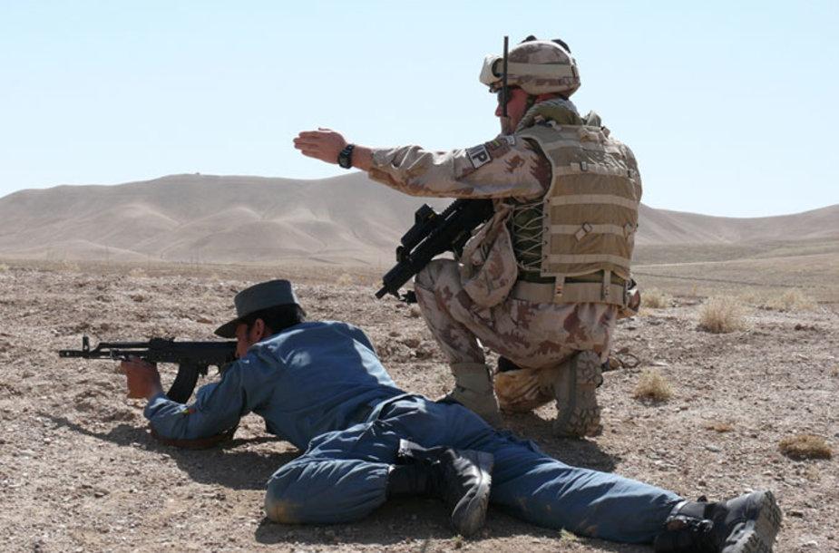 Afganistano policininkų mokymai